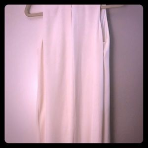 H&M Simple Chic White flowing Midi Dress
